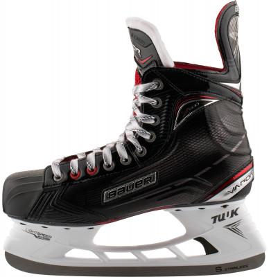 Коньки хоккейные Bauer S17 Vapor X600Хоккейные коньки от bauer линии vapor. Модель рассчитана на широкий круг любителей хоккея.<br>Вес, кг: 0,863; Раздвижной ботинок: Нет; Термоформируемый ботинок: Да; Материал ботинка: Fiber composite с Х-образными рёбрами жёсткости; Материал подкладки: Влага впитывающий Microfiber; Материал лезвия: Нержавеющая сталь; Анатомический ботинок: Да; Широкая колодка: Нет; Тип фиксации: Шнурки; Усиленный ботинок: Нет; Поддержка голеностопа: Есть; Ударопрочный мыс: Да; Морозоустойчивый стакан: Да; Анатомическая стелька: Есть; Усиленный язык: Есть; Анатомические вкладыши: Есть; Съемный внутренний ботинок: Нет; Материал подошвы: Облегченный жесткий пластик TPU без сублимации; Заводская заточка: Нет; Утепленный ботинок: Нет; Пол: Мужской; Возраст: Взрослые; Вид спорта: Хоккей; Уровень подготовки: Средний; Технологии: FORM-FIT+, Hydrophobic microfiber, TUUK LIGHTSPEED EDGE, anatomical heel support; Производитель: Bauer; Артикул производителя: 1050566; Срок гарантии: 3 года; Страна производства: Китай; Размер RU: 42;