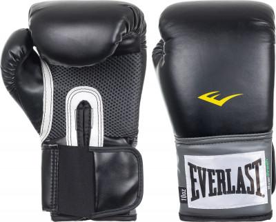 Перчатки тренировочные Everlast PU Pro StyleБазовые тренировочные перчатки. Высококачественная синтетическая кожа. Отверстия на ладони для вентиляции. Антибактериальная пропитка.<br>Вес, кг: 12 oz; Тип фиксации: Липучка; Материал верха: Искусственная кожа; Вид спорта: Бокс; Производитель: Everlast; Артикул производителя: 2312U; Срок гарантии: 14 дней; Страна производства: Китай; Размер RU: 12 oz;