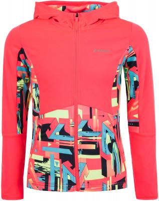 Джемпер для девочек Demix, размер 164Джемперы<br>Удобный и яркий джемпер для девочек от demix станет отличным выбором для фитнес-тренировок в прохладную погоду.