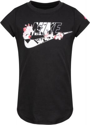 Футболка для девочек Nike Tokyo Floral Futura, размер 116 фото