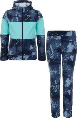 Костюм для девочек Demix, размер 140Костюмы<br>Оригинальный спортивный костюм для девочек от demix - отличный выбор для интересного образа.