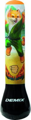 Мешок детский надувной DemixНадувной мешок с надежным водоналивным основанием от demix. Модель служит не только снарядом для тренировок, но и оригинальным ночником.<br>Диаметр мешка: 25 см; Материал верха: Поливинилхлорид; Вид спорта: Бокс; Производитель: Demix; Артикул производителя: DCS-211F; Срок гарантии: 6 месяцев; Страна производства: Китай; Размер RU: Без размера;