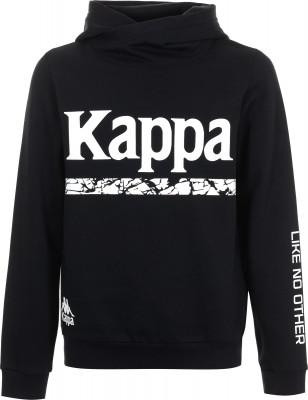 Джемпер для мальчиков Kappa, размер 140Джемперы<br>Удобный детский джемпер от kappa - удачный выбор для образа в спортивном стиле. Натуральные материалы натуральный хлопок гарантирует комфорт и воздухопроницаемость.