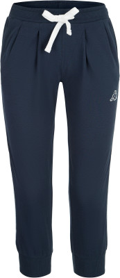 Бриджи женские Kappa, размер 46Легинсы<br>Отличный выбор для твоего образа в спортивном стиле - удобные бриджи от kappa. Устойчивость к износу смесовая ткань устойчива к износу и приятна на ощупь.