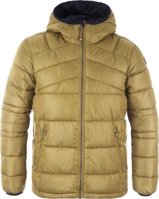 Куртка утепленная мужская IcePeak VadimТеплая и удобная куртка icepeak vadim - отличный выбор для любителей походов и активного отдыха.<br>Пол: Мужской; Возраст: Взрослые; Вид спорта: Походы; Вес утеплителя на м2: 200 г/м2; Наличие чехла: Нет; Длина по спинке: 71 см; Температурный режим: До -25; Покрой: Прямой; Дополнительная вентиляция: Нет; Проклеенные швы: Нет; Длина куртки: Короткая; Капюшон: Не отстегивается; Мех: Отсутствует; Количество карманов: 3; Водонепроницаемые молнии: Нет; Технологии: Super Soft Touch, Water Repellent; Производитель: IcePeak; Артикул производителя: 56288507XV; Страна производства: Китай; Материал верха: 100 % полиэстер; Материал подкладки: 100 % полиэстер; Материал утеплителя: 100 % полиэстер; Размер RU: 52;