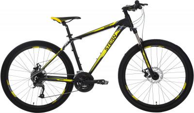 Stern Motion 2.0 27.5 (2018)Горный велосипед продвинутого уровня с конструкцией optimized cycling geometry.<br>Материал рамы: Алюминиевый сплав; Размер рамы: 18; Амортизация: Hard tail; Конструкция рулевой колонки: Полуинтегрированная; Наименование вилки: 525AMS ML/O 27,5 шток 28,6 мм; Конструкция вилки: Пружинно-эластомерная; Ход вилки: 100 мм; Регулировка жесткости вилки: Да; Блокировка вилки: Да; Материал педалей: Пластик; Система: Prowheel; Количество скоростей: 27; Наименование переднего переключателя: Shimano ALTUS FD-M370; Наименование заднего переключателя: Shimano Acera RD-M370; Конструкция педалей: Классические; Наименование манеток: Shimano Altus ST-M370, RapidFire; Конструкция манеток: Триггерные двурычажные; Тип переднего тормоза: Дисковый механический; Тип заднего тормоза: Дисковый механический; Материал втулок: Алюминий; Диаметр колеса: 27,5; Тип обода: Двойной; Материал обода: Алюминий; Наименование покрышек: Chaoyang 27,5 x 2,1; Возможность крепления боковых колес: Нет; Материал руля: Алюминий; Название шифтера: Shimano Altus ST-M370, RapidFire; Конструкция руля: Прямой; Регулировка руля: Да; Регулировка седла: Да; Амортизационный подседельный штырь: Нет; Сезон: 2018; Максимальный вес пользователя: 110 кг; Вид спорта: Велоспорт; Технологии: 6061 Aluminium, Hydroforming, Optimized Cycling Geometry, Preload; Производитель: Stern; Артикул производителя: 18MOT218T; Срок гарантии: 2 года; Вес, кг: 14,8; Страна производства: Россия; Размер RU: 18;
