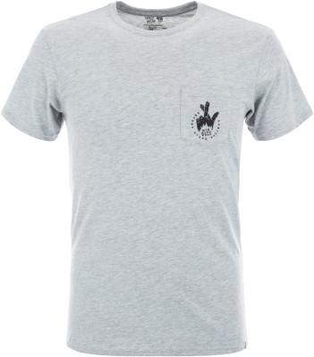Футболка мужская Mountain Hardwear Secret Stash 2, размер 54Футболки<br>Практичная футболка для активного отдыха на природе от mhw. Свобода движений прямой крой не стесняет движения.