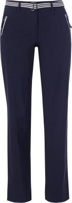 Брюки женские Fila, размер 44Брюки <br>Отличный выбор для твоего спортивного образа - брюки fila. Уникальный дизайн съемный ремень с эффектной пряжкой.