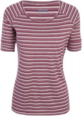Футболка женская Columbia Walkabout Tee, размер 44Футболки<br>Легкая футболка от columbia для летних прогулок. Свобода движений прямой крой и тянущаяся ткань позволяют двигаться легко и свободно.