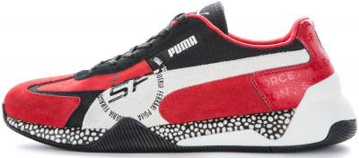 Кроссовки мужские Puma Sf Speed Hybrid, размер 41,5Кроссовки <br>Удобные амортизирующие кроссовки sf speed hybrid из серии puma-автоспорт - отличный выбор для образа в спортивном стиле.