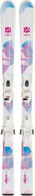 Горные лыжи детские + крепления Volkl CHICA + 4.5 VMotion Jr.
