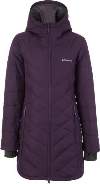 e7c740bc Куртка утепленная женская Columbia Heavenly фиолетовый цвет — купить за  10999 руб. в интернет-магазине Спортмастер