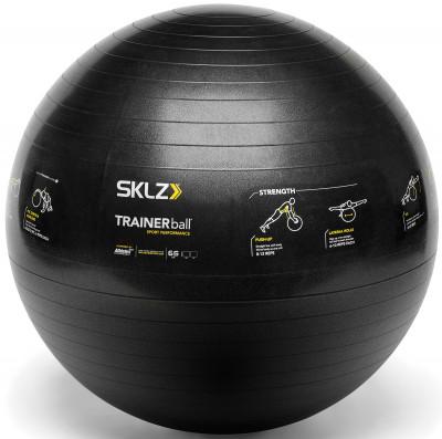 Мяч гимнастический SKLZ16 упражнений, нарисованных на мяче trainerball sport performance, были разработаны профессиональными тренерами для ведущих спортсменов.<br>Диаметр: 65 см; Вес, кг: 1,8; Состав: 100 % поливинилхлорид; Вид спорта: Кардиотренировки, Фитнес; Производитель: SKLZ; Артикул производителя: APD-TB-SPT-04; Срок гарантии: 1 год; Страна производства: Таиланд; Размер RU: Без размера;