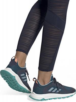 Фото 3 - Кроссовки женские для бега Adidas Response Trail X, размер 35,5 синего цвета