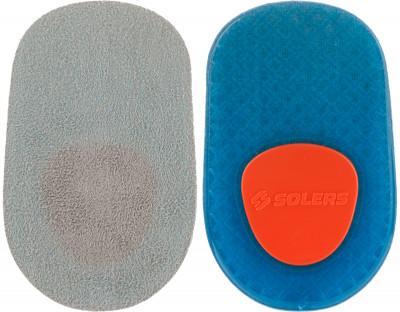Подпяточники SolersПлоские подпяточники solers pads обеспечивают максимальный комфорт, смягчают ударные нагрузки на суставы и позвоночник, снимают болевые ощущения и усталость в стопах.<br>Пол: Мужской; Возраст: Взрослые; Вид спорта: Аксессуары; Материалы: Гель полимерный, ткань синтетическая; Производитель: Solers; Артикул производителя: D401PA; Страна производства: Китай; Размер RU: Без размера;