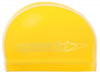 Шапочка для плавания детская SpeedoДетская шапочка от speedo, предназначенная для плавания в бассейне. Конструкция из панелей обеспечивает оптимальную посадку.<br>Пол: Мужской; Возраст: Дети; Вид спорта: Плавание; Назначение: Универсальные; Производитель: Speedo; Артикул производителя: 8-720736526; Страна производства: Китай; Материалы: Нейлон, лайкра; Размер RU: Без размера;