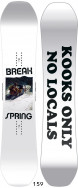 Сноуборд CAPITA SPRING BREAK - POWDER TWIN