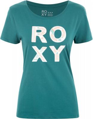 Футболка женская Roxy Itty Be Tee Colorful Leaf, размер 42-44Surf Style <br>Футболка roxy создана для девушек, которые хотят чувствовать себя максимально комфортно во время летних приключений.