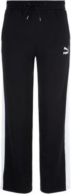 Брюки женские Puma Classics T7, размер 40-42Брюки <br>Удобные брюки из винтажной коллекции puma, выполненные в спортивном стиле. Натуральные материалы в составе преобладает натуральный воздухопроницаемый хлопок.
