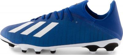 Бутсы мужские Adidas X 19.3 Mg, размер 42