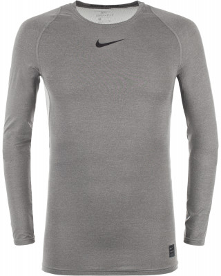 Футболка с длинным рукавом мужская Nike ProМужская футболка nike pro гарантирует комфорт и прохладу во время тренировок.<br>Пол: Мужской; Возраст: Взрослые; Вид спорта: Тренинг; Покрой: Зауженный; Технологии: Nike Dri-FIT; Производитель: Nike; Артикул производителя: 838077-091; Страна производства: Шри-Ланка; Материалы: 92 % полиэстер, 8 % эластан; Размер RU: 50-52;