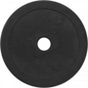Блин Torneo стальной обрезиненный 5 кг