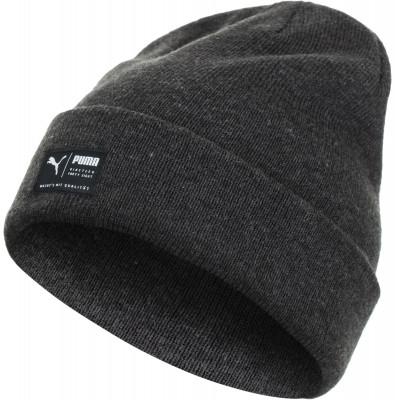 Шапка Puma ActiveШапки<br>Двуслойная шапка из юбилейной коллекции puma - отличный вариант для тренировок на свежем воздухе. Модель выполнена из меланжевой пряжи.