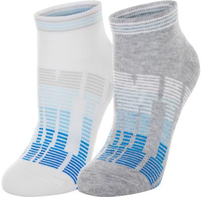 Носки Demix, 2 пары, размер 39-42Носки<br>Носки из качественного воздухопроницаемого материала от demix - отличный выбор для занятий фитнесом. В комплекте 2 пары.