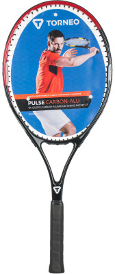 Ракетка для большого тенниса Torneo, 27Любительская ракетка для большого тенниса подойдет начинающим и прогрессирующим игрокам. Маневренность небольшой вес увеличивает маневренность ракетки.<br>Вес (без струны), грамм: 320; Размер головы: 660 кв.см; Длина: 27; Баланс: 330 мм; Материалы: Графит, алюминий; Наличие струны: В комплекте; Наличие чехла: Опционально; Вид спорта: Большой теннис; Производитель: Torneo; Артикул производителя: S17ETOAN002; Срок гарантии: 1 год; Страна производства: Китай; Размер RU: 3;