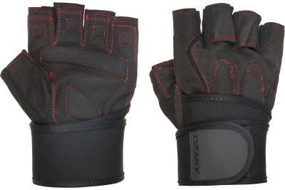 Перчатки атлетические с фиксатором Fitness Gloves With Wrist Strap, размер 52 Demix