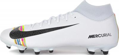 Бутсы мужские Nike Mercurial Superfly 6 Academy CR7 FG/MG, размер 44Бутсы<br>Мужские футбольные бутсы cr7 superfly 6 academy (mg) с дизайном в легендарном стиле роналду.