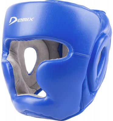 Шлем тренировочный DemixЛегкий и надежный тренировочный шлем незаменимый помощник на ринге. Отлично защищает голову, при этом обеспечивая максимальный угол обзора действий вашего спарринг-партнера.<br>Состав: верх - кожзаменитель, подкладка - искусственная замша, наполнитель - пенополиуретан, саржа х/б; Вид спорта: Бокс, ММА; Производитель: Demix; Артикул производителя: DCS-402L; Срок гарантии: 6 месяцев; Размер RU: L;