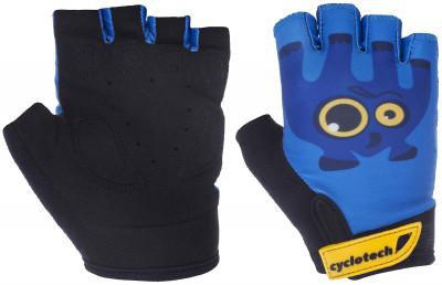 Перчатки велосипедные детские Cyclotech RacerВелосипедные перчатки cyclotech не дают рукам скользить на руле. Особенности модели: гасят неприятные вибрации; комфортная посадка; хорошая вентиляция.<br>Материал верха: 45 % искусственная кожа, 45 % эластан, 10 % неопрен; Материал подкладки: Искусственная кожа; Тип фиксации: Липучка; Производитель: Cyclotech; Артикул производителя: 15RACB-XXS; Срок гарантии: 6 месяцев; Страна производства: Пакистан; Размер RU: 5;