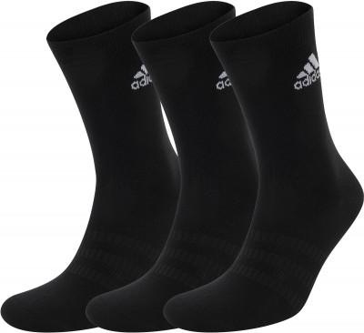 Носки adidas, 3 пары, размер 43-45 фото