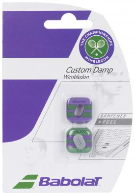 Виброгаситель Babolat Custom Damp2 x2 wimbledon