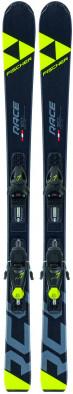 Горные лыжи детские + крепления Fischer RC4 RACE JR. + FJ7 GW