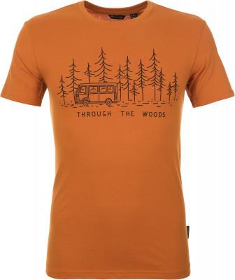 Футболка мужская Outventure, размер 54Футболки<br>Мужская футболка от outventure - идеальный вариант для летних путешествий. Натуральные материалы ткань из 100 % хлопка обеспечивает комфорт и отличный воздухообмен.