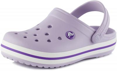 Шлепанцы для девочек Crocs Crocband Clog K, размер 33-34