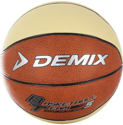 Мяч баскетбольный DemixБаскетбольный мяч для игры в зале. Устойчивость к износу покрышка выполнена из высококачественной синтетической кожи толщиной 1, 2 мм.<br>Сезон: 2017/2018; Возраст: Взрослые; Вид спорта: Баскетбол; Тип поверхности: Универсальные; Назначение: Тренировочные; Материал покрышки: Синтетическая кожа; Материал камеры: Резина; Способ соединения панелей: Клееный; Количество панелей: 8; Вес, кг: 0,465-0,535; Производитель: Demix; Артикул производителя: DEAT021FC5; Срок гарантии: 6 месяцев; Страна производства: Китай; Размер RU: 5;