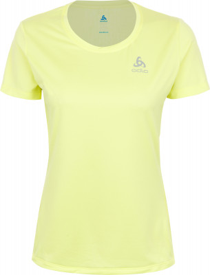 Футболка женская Odlo Element, размер 40-42Футболки<br>Технологичная футболка от odlo - оптимальный выбор для занятий бегом. Отведение влаги ткань эффективно отводит влагу от кожи.