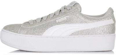 Кеды для девочек Puma Vikky Platform Glitz