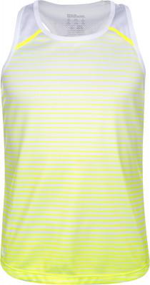 Майка для девочек WilsonTeam Striped, размер 128