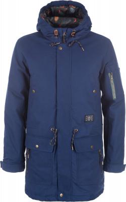 Куртка утепленная мужская TermitУтепленная мужская куртка от termit - для тех, кто живет активно. Сохранение тепла в куртке использован синтетический утеплитель весом 80 г м2.<br>Пол: Мужской; Возраст: Взрослые; Вид спорта: Skate style; Наличие мембраны: Нет; Регулируемые манжеты: Да; Вес утеплителя на м2: 80 г/м2; Покрой: Прямой; Дополнительная вентиляция: Нет; Длина куртки: Длинная; Капюшон: Не отстегивается; Количество карманов: 6; Длина по спинке: 95 см; Материал верха: 100 % хлопок; Материал подкладки: 100 % полиэстер; Материал утеплителя: 100 % полиэстер; Производитель: Termit; Артикул производителя: TEJAM01Z4L; Страна производства: Китай; Размер RU: 50;