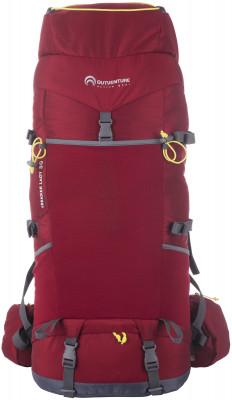 Outventure Trekker 50Удобный, прочный и надежный рюкзак outventure trekker для сложных походов.<br>Объем: 50 л; Размеры (дл х шир х выс), см: 70 х 30 х 18; Вес, кг: 1,8; Число лямок: 2; Количество отделений: 1; Нагрудный ремень: Да; Поясной ремень: Да; Боковые стяжки: Да; Вентилируемые лямки: Да; Верхний клапан: Да; Регулировка клапана: Да; Доступ в нижнее отделение: Да; Доступ в боковое отделение: Да; Боковые карманы: Да; Фронтальный карман: Да; Крепление для палок: Да; Крепление для ледового инструмента: Да; Чехол от дождя: Да; Материал верха: 100 % полиэстер; Материал подкладки: 100 % полиэстер; Вид спорта: Кемпинг, Походы; Производитель: Outventure; Срок гарантии: 10 лет; Артикул производителя: OUOB020R4; Страна производства: Бангладеш; Размер RU: Без размера;