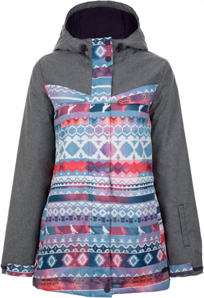 15bef6f2 Куртка утепленная женская Termit серый цвет — купить за 4999 руб. в  интернет-магазине Спортмастер