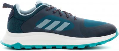 Фото 15 - Кроссовки женские для бега Adidas Response Trail X, размер 35,5 синего цвета