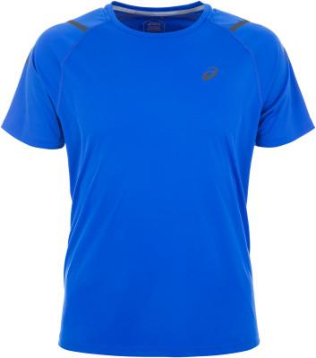 Футболка мужская ASICS Icon, размер 48-50Мужская одежда<br>Удобная беговая футболка asics icon подойдет для тренировок и соревнований.