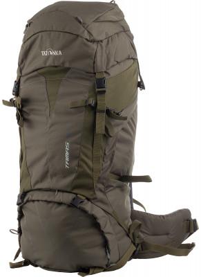 Tatonka Tamas 70Универсальный трекинговый туристический рюкзак среднего объема от tatonka.<br>Объем: 70 л; Размеры (дл х шир х выс), см: 80 х 32 х 23; Вес, кг: 2; Материал верха: 100 % полиэстер; Материал подкладки: 100 % полиэстер; Боковые стяжки: Да; Вентилируемые лямки: Нет; Вентиляция спины: Нет; Верхний клапан: Да; Регулировка клапана: Да; Боковые карманы: Да; Нагрудный ремень: Да; Поясной ремень: Да; Чехол от дождя: Нет; Крепление для шлема: Да; Крепление для ледового инструмента: Да; Крепление для палок: Да; Отделение для ноутбука: Нет; Фронтальный карман: Нет; Доступ в боковое отделение: Да; Доступ в нижнее отделение: Да; Срок гарантии: 1 год; Вид спорта: Кемпинг, Походы; Размер RU: Без размера;