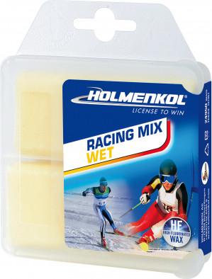Мазь скольжения HOLMENKOL RacingMix WET