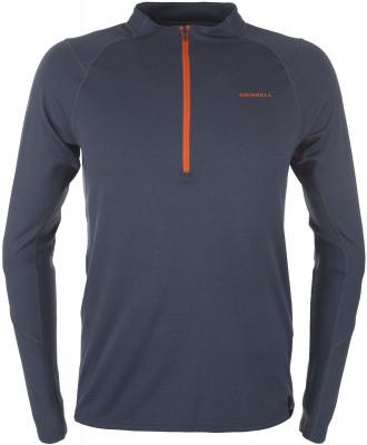 Футболка с длинным рукавом мужская Merrell, размер 48Футболки<br>Технологичная футболка с длинным рукавом от merrell - отличный выбор для горного туризма. Свобода движений крой с рукавами реглан позволяет двигаться свободно.